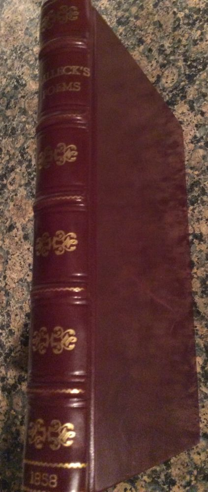 The Poetical Works of Fitz-Greene Halleck New Edition. Fitz-Greene Halleck.