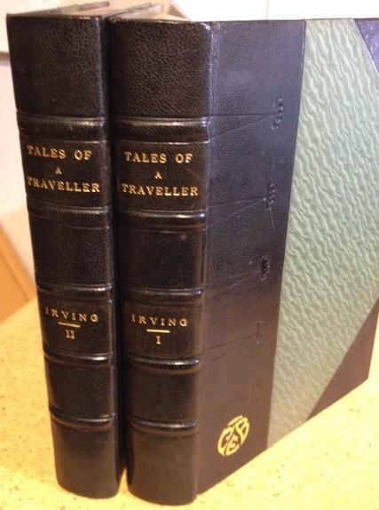Tales of a Traveller (2 Volumes - Complete). Washington Irving.