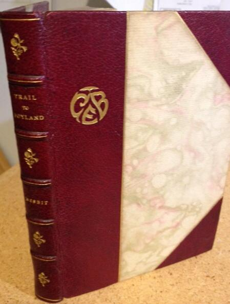 Nesbit, Wilbur D. The Trail Of Boyland, Other Poems.