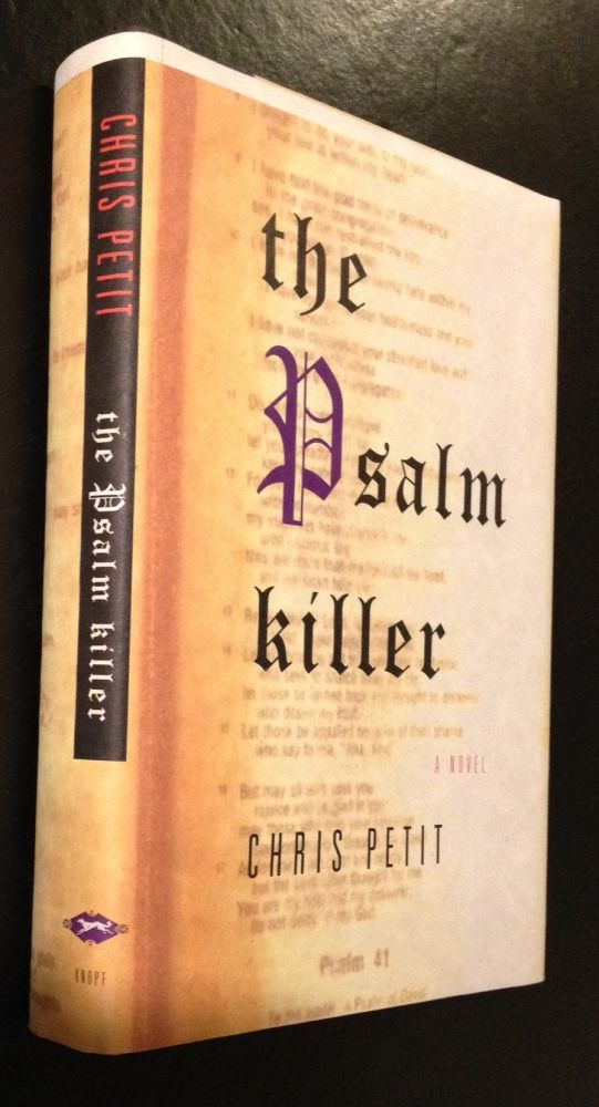 The Psalm Killer. Christopher Petit.