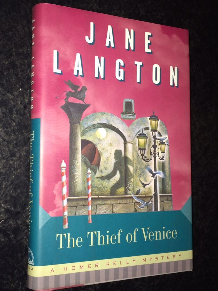 The Thief of Venice A Homer Kelly Mystey. Jane Langton.