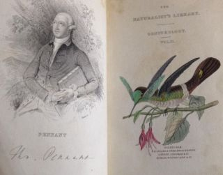 The Naturalist's Library - Ornithology - Humming-Birds (2 Volumes)