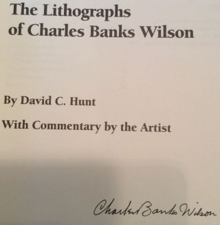 The Lithographs of Charles Banks Wilson