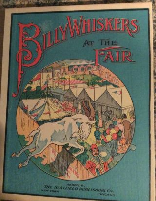 Billy Whiskers At the Fair. F. G. Wheeler.