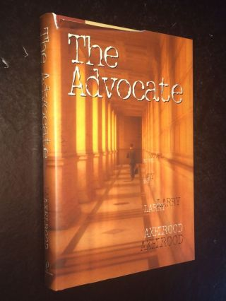 The Advocate. Larry Axelrood