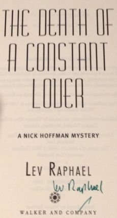 The Death of a Constant Lover A Nick Hoffman Mystery
