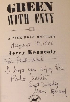 Green With Envy A Nick Polo Mystery