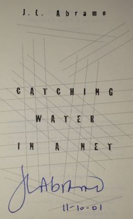 Catching Water in a Net