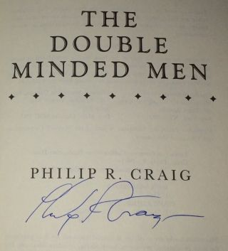 The Double Minded Men A Martha's Vineyard Mystery
