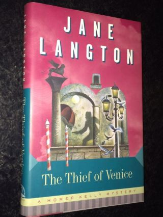 The Thief of Venice A Homer Kelly Mystey. Jane Langton